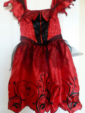 TESCO spanish dancer Costume Fancy Dress Outfit Childrens 9-10 year
