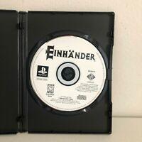 Einhander Playstation 1 PS1 Tested Working Rare