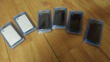 6 PZ COVER CUSTODIA APPLE 4G 4 G iPHONE I PHONE TELEFONO 2 BIANCHE E 4 NERE