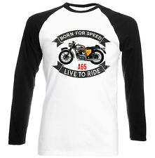 BSA A65 - NEW COTTON TSHIRT - ALL SIZES IN STOCK