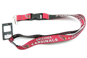 ARIZONA CARDINALS NFL Football Officially Team Colors Reversible Lanyard