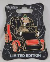 WDI Disney D23 Expo Disneyland Mr Toad's Wild Ride Ratty (Water Rat) Pin LE 300