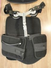 B & G Rehab Inc Back Brace Black sz Small Spinal Recovery TLSO
