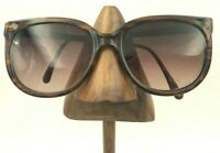 Vintage Colors In Optics Sanford Hutton Brown Oval Sunglasses USA FRAMES ONLY