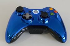 Official Microsoft Xbox 360 Wireless Special Edition Controller - Chrome Blue
