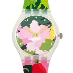 Swatch Tropical Garden 41mm Ladies' Watch SUOK132