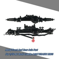 Alloy Front And Rear Axle Part For 1/10 RC Rock Crawler Axial RR10 WRAITH 90018