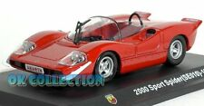 1:43 FIAT ABARTH 2000 SPORT SPIDER SE010 - 1969 _Abarth Collection Hachette (10)