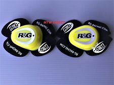 R&G Racing Aero Motorcycle Knee Sliders Flo Yellow (a pair ) Road Race Track Day