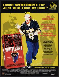 WHITEBOYZ__Original 1999 Trade Print AD / ADVERT__Danny Hoch__Dash Mihok