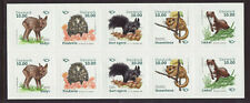 Denmark 2020 MNH - Mammals -  booklet of 10 stamps
