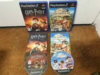Harry Potter Goblet of Fire Quidditch World Cup Bundle PS2 Playstation 2