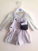 new girls ex M*S tights dungarees dress age 0-3 3-6 6-9 9-12 12-18 18-24 months