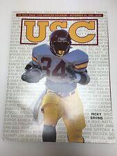 1998 USC TROJANS SOUTHERN CALIFORNIA VS NOTRE DAME IRISH FOOTBALL PROGRAM NCAA
