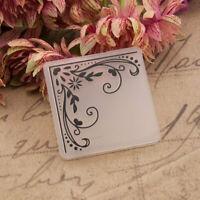 Corner Flower Plastic Embossing Folders Stencil for DIY Scrapbooking Craft Card