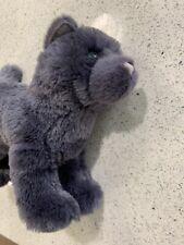 "Douglas Midnight Black Cat Plush Stuffed Animal Toy 12"" Child Cuddle Kitten New"