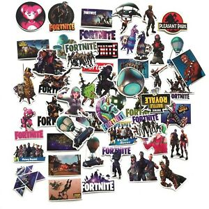 10 x FORTNITE Gaming Stickers - Battle Royale - loot party bags birthday