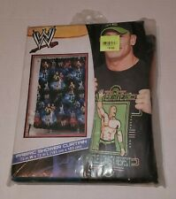 John Cena WWE Wrestling Fabric Shower Curtain 72 X 72 Official Licensed Product