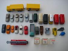 Wiking colección 26 coches de modelo 1:87 h0 de bomberos 70er 80er Porsche autobús VW Cabrio