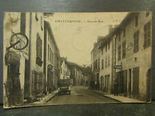 cpa 71 chateauneuf grande rue