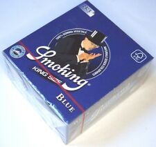 3 Boxen - SMOKING BLUE 50 Heftchen mit je 33 Papers Blättchen King Size KS SMK