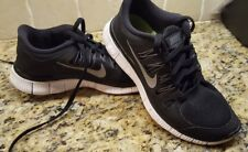 Womens Nike Free 5.0+ Running shoes Black sneakers Size 8 Athletic