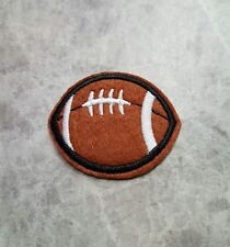 RUGBY FOOTBALL BALL PATCH IRON ON APPLIQUE BADGE