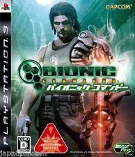 Used PS3  Bionic Commando SONY PLAYSTATION 3 JAPAN JAPANESE IMPORT