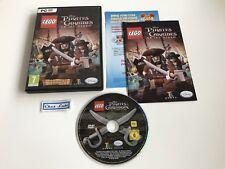 Lego Pirates Des Caraïbes Le Jeu Vidéo - PC - FR - Avec Notice
