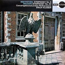 ECS 518 Beethoven Symphony 5 Mozart Symphony 40 Erich Kleiber NEAR MINT Decca
