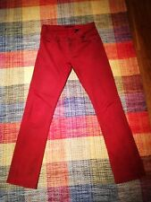 Men's John Varvatos Red Jeans 32 WaistGreat Condition