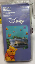 Disney Winnie The Pooh Removable Self Stick Room Appliques IOP New 30 Stickers