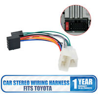 For Toyota Car Stereo Radio ISO Wiring Harness Connector Adaptor Cable Loom New