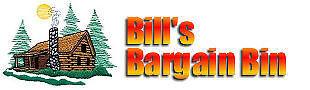 Bill's Bargain Bin