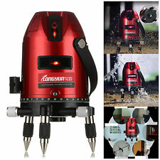 Universal Red Automatic Self Leveling 5 Line 6 Point 4V1H Laser Level Measure