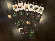 New PLANTS VS ZOMBIES birthday bags for party favors, candy and more!! Free ship