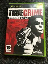 True Crime Streets of LA (original Xbox) - GRATUIT UK p&p