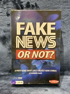 FAKE NEWS OR NOT? Trivia Board Game Brand NEW Sealed