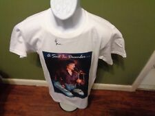 Gino Vannelli Tour T Shirt SIZE ADULT SMALL SIGNED