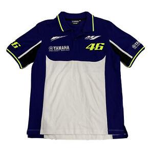 Valentino Rossi Moto GP Yamaha VR46 Mens Polo Shirt Sz S