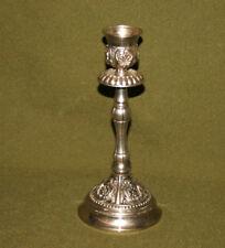 Vintage ornate metal candlestick