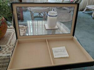 "Vintage Prestige  Necklace Jewelry Case Box 14.75"" x 8.50"""