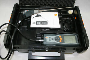 Testo 327-1 Combustion Analyzer Kit in Hard Case - New O2 Sensor