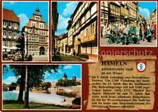 72651932 Hameln Weser Buergerhaeuser Rattenfaenger Spiel Kloster Hameln