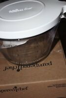 The Pampered Chef Small Batter Bowl Measuring Cup With Lid 4 Cups 1 Quart 2432