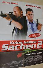 KEINE HALBEN SACHEN 2 - FILMPLAKAT A1 - BRUCE WILLIS  - M. PERRY - AF609