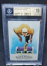 Michael Phelps 2009 Topps Allen & Ginter Olympic GOLD MEDALIST BGS 10 PRISTINE