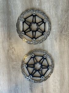 Pair Of Hope 203mm Floating Saw Tooth Rotors