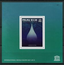 Palau 2013 MNH UNESCO Intl World Water Day Conservation 1v S/S Stamps