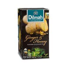 Flavoured Ceylon Black Tea - Ginger & honey,Apple,Lemon,Cinnamon - Dilmah 20bags